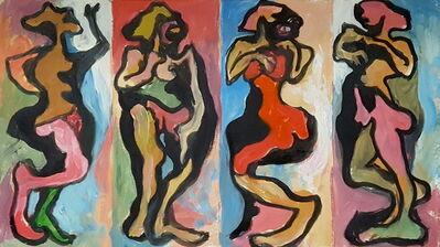 Rex Ashlock, 'Cracker Box Nudes Series', 1970