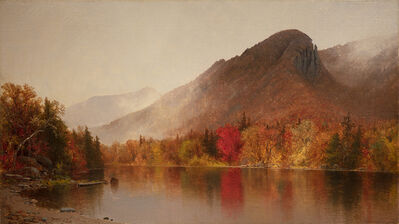 Jervis McEntee, 'Eagle Cliff, Franconia Notch, New Hampshire', 1866