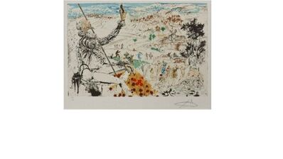 Salvador Dalí, 'The Golden Age (L'Age D'Or)', ca. 1957