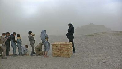 Lida Abdul, 'Brick sellers of Kabul', 2006