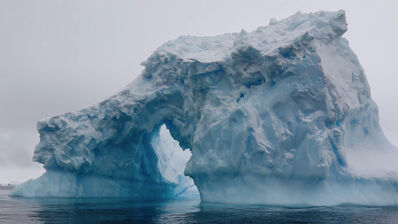 Zaria Forman, 'Ode To An Iceberg (film)', 2017