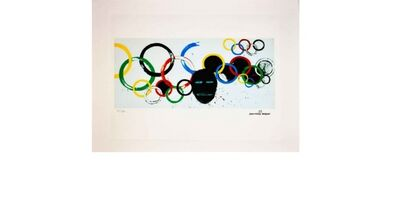 Jean-Michel Basquiat, 'Olympic Rings', ca. 1985