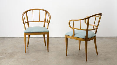 Carl Malmsten, 'Pair of Chairs', ca. 1940