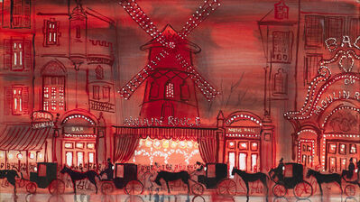 Bernard Lamotte, 'Moulin Rouge', 20th Century
