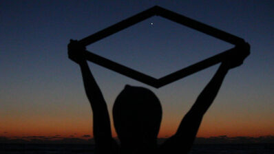 Jamilah Sabur, 'Untitled (rhombus cradling Mars west of the Sargasso Sea)', 2017