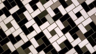 Noah Klersfeld, 'Percussive Lights with Bathroom Floor #12', 2014