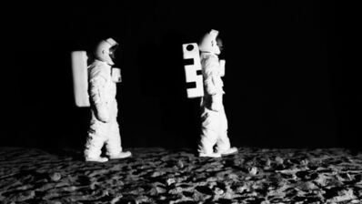 John Wood and Paul Harrison, 'Bored Astronauts on the Moon', 2011