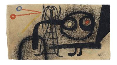 Joan Miró, 'Sans titre', 1949