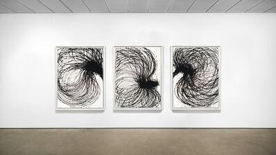 Yoon-Hee, 'Crayonnage Triptyque', ca. 2010