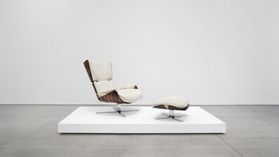 Jorge Zalszupin, 'Paulistana Lounge Chair and Ottoman', 1956-1965