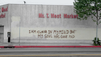 """Daniel Joseph Martinez, 'Mr. T. Meat Market (from the series: """"Field notes from South Los Angeles; this world is a fleshless one where madness, love and heretics are all I know"""")', 2013"""