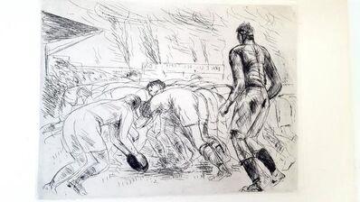 "André Dunoyer de Segonzac, 'Original Etching ""The Melee"" by Dunoyer de Segonzac', 1927"