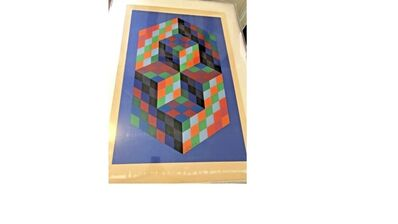 Victor Vasarely, 'Untitled Cubes/Hexagon', Unknown