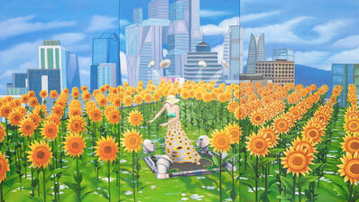 Mak Ying Tung 2 麥影彤二, 'Home Sweet Home: Arrival 1', 2021