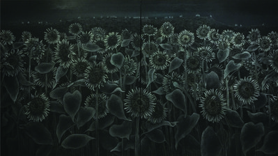 Sanzi 散子, '破晓 Dawn (Sunflower)', 2014