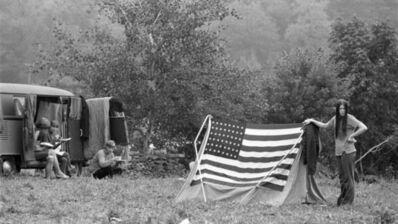 Baron Wolman, 'Woodstock 1969 American Flag', 1969