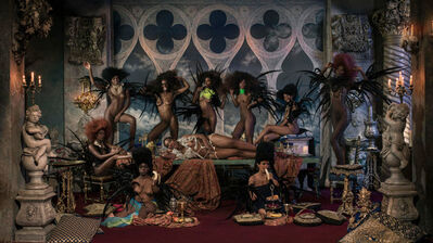 Marc Lagrange, 'Fellini's Banquet', 2015