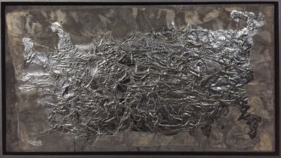 Yang Jiechang 杨诘苍, 'Hundred Layers of Ink - Horizontal Square', 1991