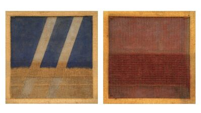 Salvatore Emblema, 'Couple of Untitled Paintings', 1978-1979