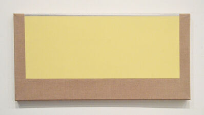Sharon Brant, 'Yellow and Silver', 2017