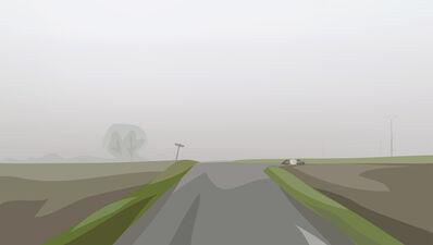 Julian Opie, 'Winter 58.', 2012