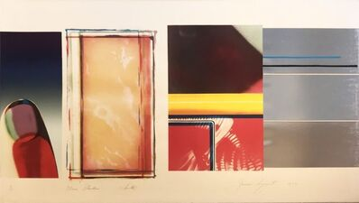 James Rosenquist, 'Horse Blinders (South)', 1972