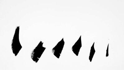 Anne Deleporte, 'Zebra Drawing 6', 2013