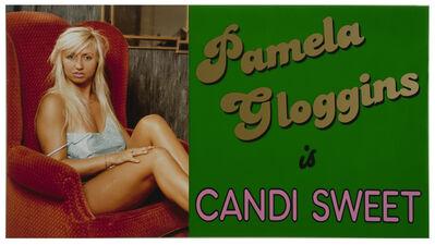 Ken Lum, 'Pamela Gloggins is Candi Sweet', 1989