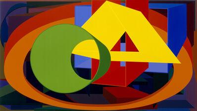 Al Held, 'Auriga II', 1989