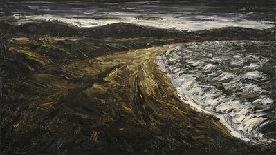 Peter Booth, 'Painting (Dark Seascape)', 1989