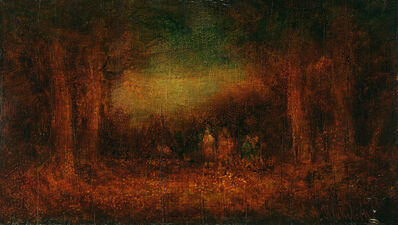 Ralph Albert Blakelock, 'The Pow Wow', Late 19th century