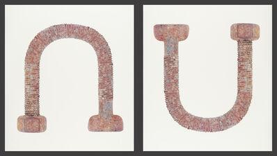 Laine Groeneweg, 'Rise & Fall (diptych)', 2020