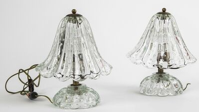 Barovier & Toso, 'Two table lamps 40s.'