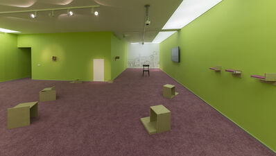 """Alevtina Kakhidze, '""""TV Studios / Rooms Without Doors"""", solo exhibition of Alevtina Kakhidze in the context of PAC-UA Re-Consideration', 2014"""