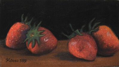Maceo Mitchell, 'Strawberries Dark Green', 1999