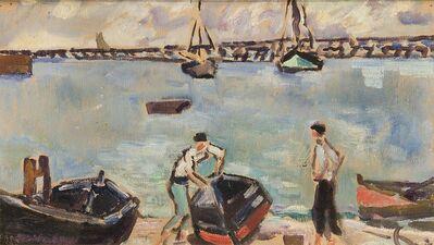 Louis Valtat, 'Les Barques au Port', 1934