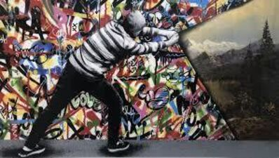 Martin Whatson, 'Martin Whatson 'Behind the Curtain' Reverse Variant', 2016
