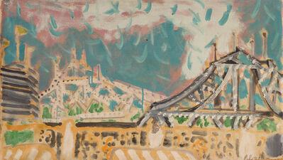 Paul Resika, 'Bridges over the Harlem River', 1948