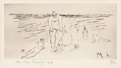 Milton Avery, 'Bathers (Lunn 20)', 1941