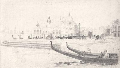 Arthur Streeton, 'La Salute from Riva Schiavoni, Venice', ca. 1910