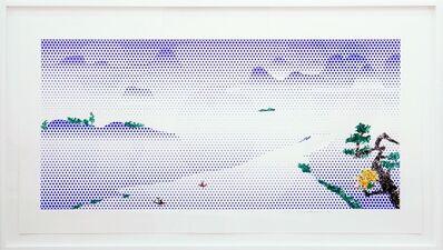 Roy Lichtenstein, 'Landscape with Boats', 1996