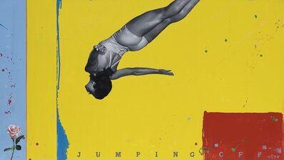 Geoffrey Gersten, 'Jumping off / Pink Rose ', 2020