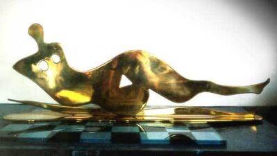 Sica, 'Reclining Nude'