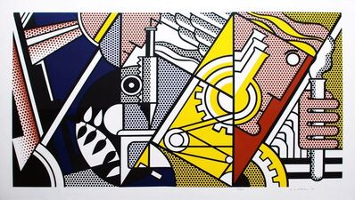 Roy Lichtenstein, 'Peace Through Chemistry II', 1970