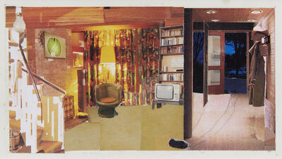 Dexter Dalwood, 'Patty Hearst's Apartment', 1999