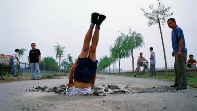 Li Wei 李日韦, 'Li Wei falls to the Earth 035-01', 2002