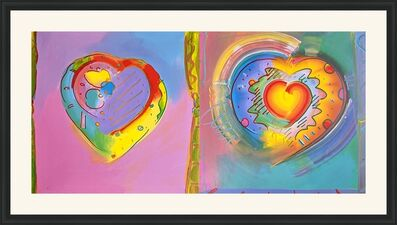 Peter Max, 'HEARTS II', 1992