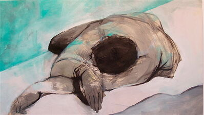 Silvina Mamani, 'Resting in Blue', 2006