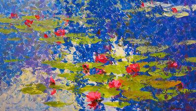 Pajonyut Puvijarn, 'Water Lillies Blue ', 2018