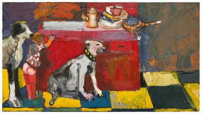 Joan Brown, 'Noel in the Kitchen', ca. 1964